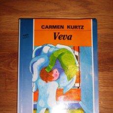 Libros de segunda mano: KURTZ, CARMEN. VEVA (CUATRO VIENTOS ; 19) / ILUSTRACIONES ODILE. Lote 148090890