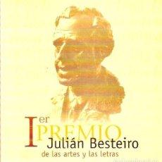 Libros de segunda mano: IER PRIMER PREMIO JULIÁN BESTEIRO DE LAS ARTES Y LAS LETRAS 1999 ESCUELA JULIÁN BESTEIRO – UGT. Lote 148095826