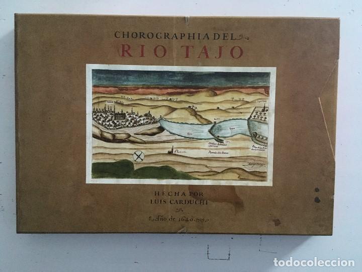 CHOROGRAPHIA DEL RÍO TAJO . 2 VOLUMENES. REPRODUCCION FACSIMILAR DEL MMS CHOROGRAPHIA DEL RÍO TAJO (Libros de Segunda Mano - Bellas artes, ocio y coleccionismo - Otros)