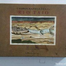 Libros de segunda mano: CHOROGRAPHIA DEL RÍO TAJO . 2 VOLUMENES. REPRODUCCION FACSIMILAR DEL MMS CHOROGRAPHIA DEL RÍO TAJO. Lote 148100258