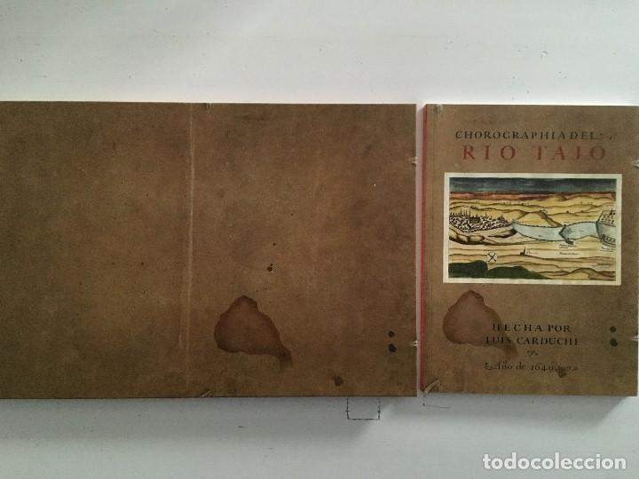 Libros de segunda mano: Chorographia del Río Tajo . 2 Volumenes. Reproduccion facsimilar del mms Chorographia del Río Tajo - Foto 3 - 148100258