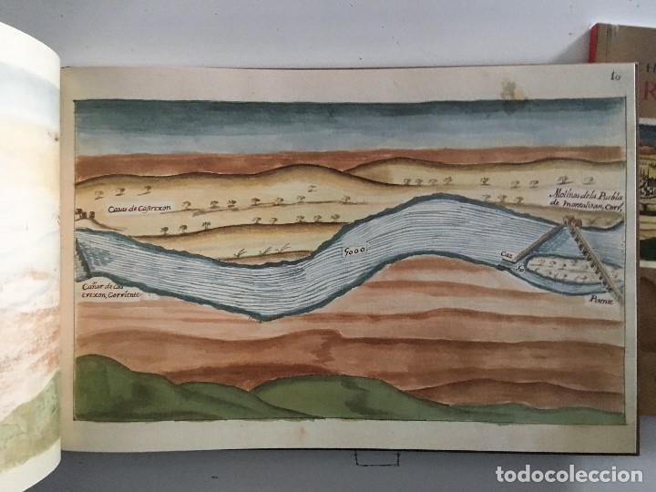 Libros de segunda mano: Chorographia del Río Tajo . 2 Volumenes. Reproduccion facsimilar del mms Chorographia del Río Tajo - Foto 9 - 148100258
