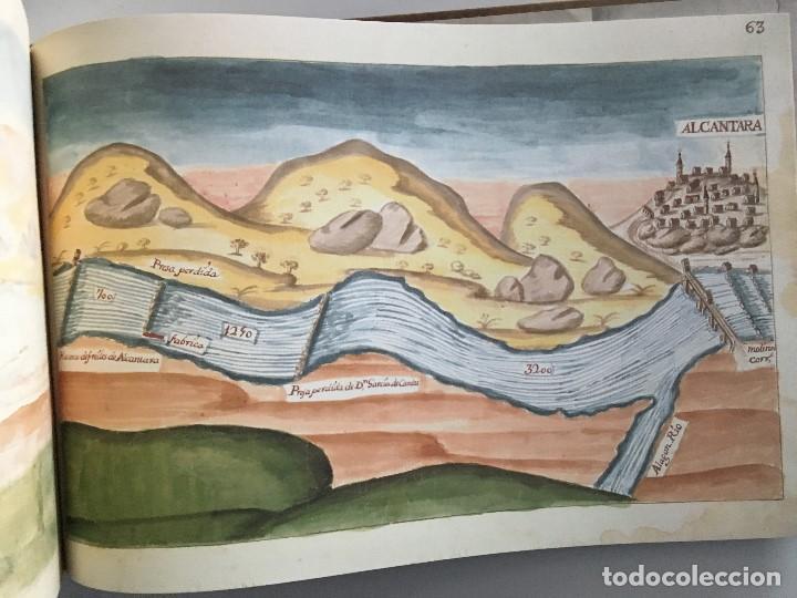 Libros de segunda mano: Chorographia del Río Tajo . 2 Volumenes. Reproduccion facsimilar del mms Chorographia del Río Tajo - Foto 10 - 148100258