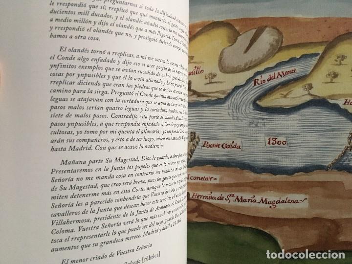 Libros de segunda mano: Chorographia del Río Tajo . 2 Volumenes. Reproduccion facsimilar del mms Chorographia del Río Tajo - Foto 13 - 148100258