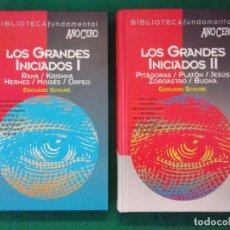 Libros de segunda mano: LOS GRANDES INICIADOS / EDOUARD SCHURÉ / 1995. AÑO CERO. Lote 148113686