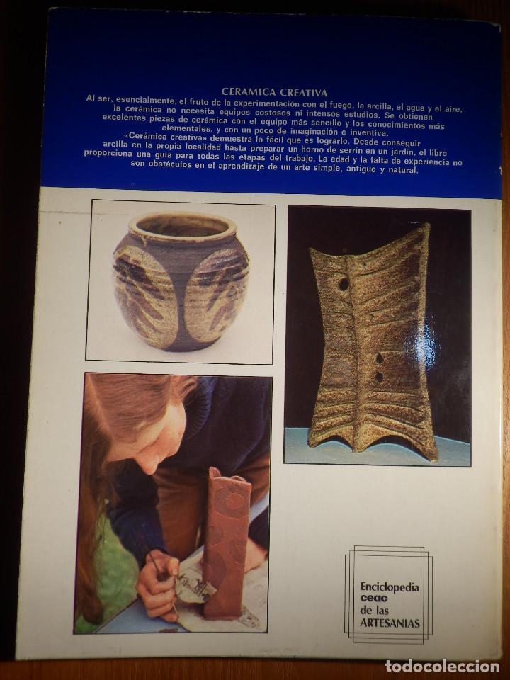 Libros de segunda mano: Cerámica Creativa - David Harvey - Ediciones Ceac - 1978 - Foto 10 - 148114130