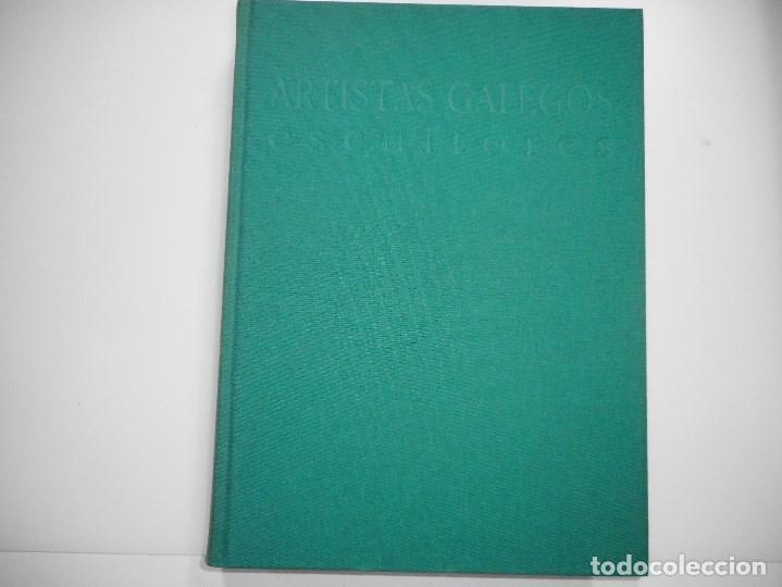ARTISTAS GALEGOS.ESCULTORES. SÉCULOS XVIII E XIX Y92059 (Libros de Segunda Mano - Bellas artes, ocio y coleccionismo - Otros)