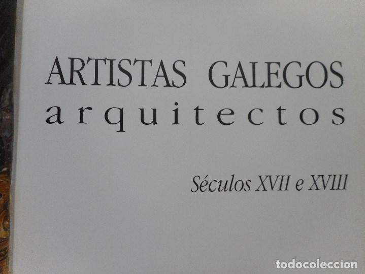 Libros de segunda mano: Artistas galegos.Arquitectos. Séculos XVII e XVIII Y92061 - Foto 2 - 148157354
