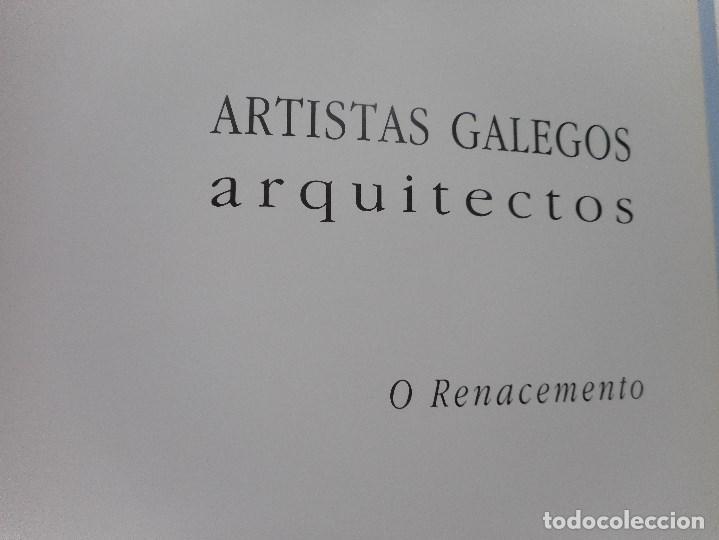 Libros de segunda mano: Artistas galegos.Arquitectos. O Renacemento# Y92062 - Foto 2 - 148157814