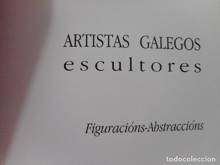 Libros de segunda mano: Artistas galegos.Escultores. Figuracións-Abstraccións Y92065 - Foto 2 - 148158518