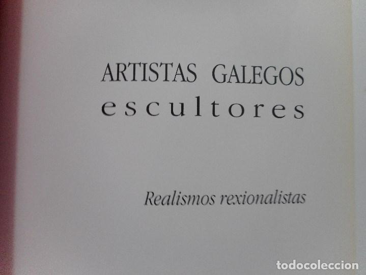 Libros de segunda mano: Artistas galegos.Escultores. Realismos nacionalistas Y92066 - Foto 2 - 148158698