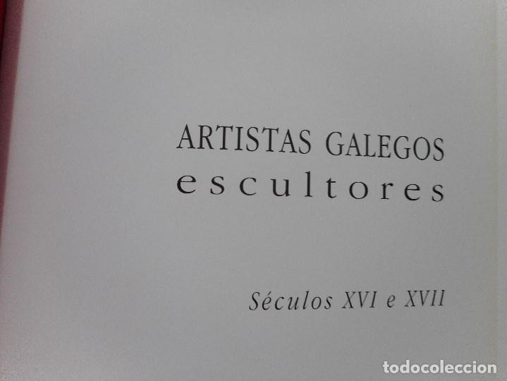 ARTISTAS GALEGOS.ESCULTORES. SÉCULOS XVI E XVII Y92069 (Libros de Segunda Mano - Bellas artes, ocio y coleccionismo - Otros)