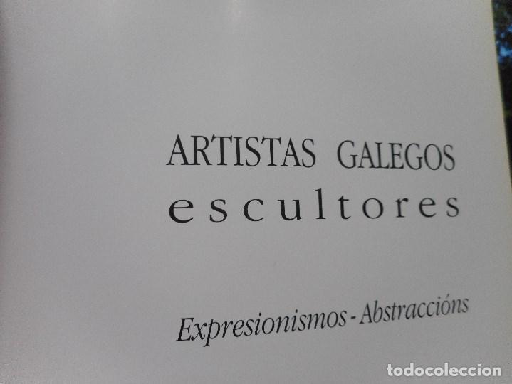 ARTISTAS GALEGOS.ESCULTORES. EXPERSIONISMO-ABSTRACCIÓN Y92071 (Libros de Segunda Mano - Bellas artes, ocio y coleccionismo - Otros)
