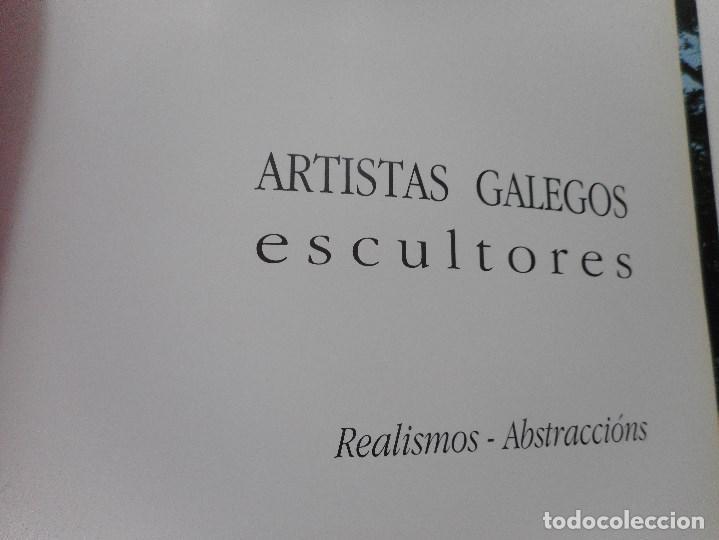 Libros de segunda mano: Artistas galegos.Escultores. Realismos-Abstraccións Y92072 - Foto 2 - 148160098