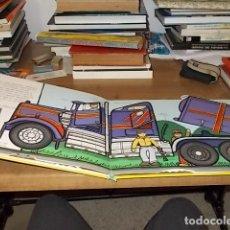 Libros de segunda mano: GRANDES RUEDAS.GRANDES MÁQUINAS. BECK WARD. ILUSTRACIONES ANDY CROWNSON. 1ª EDICIÓN 2004. FOTOS. Lote 148160130
