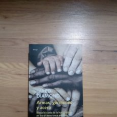 Libros de segunda mano: ARMAS, GÉRMENES Y ACERO. JARED DIAMOND.. Lote 148182526