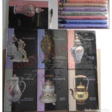 Libros de segunda mano: EL ARTE DE LA PORCELANA 7 TOMOS LIBROS PRECINTADO OBRA COMPLETA ORIENTAL EUROPEA GR. MARCAS CERÁMICA. Lote 148206502