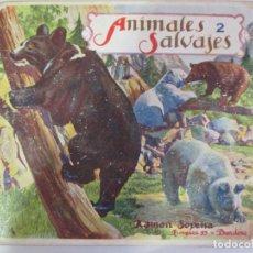 Libros de segunda mano: EL REINO ANIMAL PARA NIÑOS. ANIMALES SALVAJES. NÚMERO 2. RAMÓN SOPENA. BARCELONA. . Lote 148230790