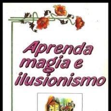 Libros de segunda mano: B1843 - APRENDA MAGIA E ILUSIONISMO. MAGO BERTO.. Lote 148247802