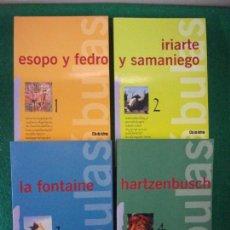 Libros de segunda mano: FABULAS. / 4 TOMOS. 1998. Lote 148254606