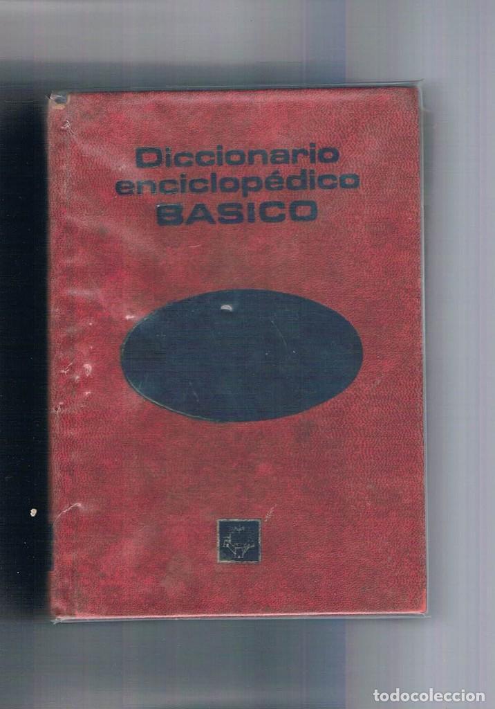DICCIONARIO ENCICLOPEDICO BASICO PLAZA JANES 1975 (Libros de Segunda Mano - Ciencias, Manuales y Oficios - Otros)