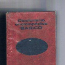 Libros de segunda mano: DICCIONARIO ENCICLOPEDICO BASICO PLAZA JANES 1975. Lote 148279046