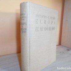 Libros de segunda mano: EUROPA Y EL MUNDO DE HOY / EDICIONES GUADARRAMA . Lote 148283790