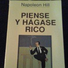 Livros em segunda mão: PIENSE Y HÁGASE RICO, NAPOLEÓN HILL . Lote 148434030