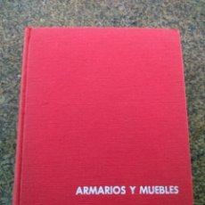 Libri di seconda mano: ARMARIOS Y MUEBLES TRANFORMABLES -- JUAN DE CUSA RAMOS -- MONOGRAFICAS CEAC 1961 -- . Lote 148470874