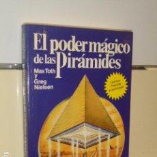 Livros em segunda mão: EL PODER MAGICO DE LAS PIRAMIDES MAX TOTH GREG NIELSEN - EDICIONES M. R.. Lote 148471966