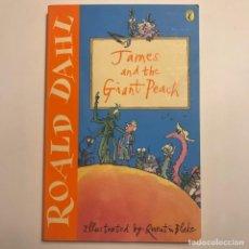Libros de segunda mano: ROALD DAHL. JAMES AND THE GIANT PEACH . Lote 148494506