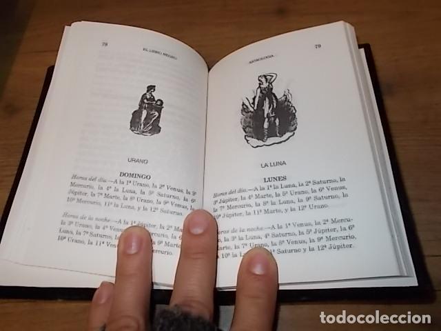 Libros de segunda mano: EL LIBRO NEGRO. ADMIRABLES SECRETOS, RECETAS, TALISMANES.CIENCIAS OCULTAS. ASTROLOGÍA... 1995. FOTOS - Foto 5 - 148505426