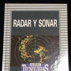 Libros de segunda mano: TADAR Y SONAR,BIBLIOTECA DE ELECTRONICA/INFORMATICA,ORBIS,BARCELONA 1986.. Lote 148560410