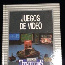 Libros de segunda mano: JUEGOS DE VIDEO,BIBLIOTECA DE ELECTRONICA/INFORMATICA,ORBIS,BARCELONA 1986.. Lote 148561385