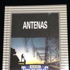 Libros de segunda mano: ANTENAS,BIBLIOTECA DE ELECTRONICA/INFORMATICA,ORBIS,BARCELONA 1986.. Lote 148561769