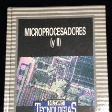 Libros de segunda mano: MICROPROCESADORES (Y II),BIBLIOTECA DE ELECTRONICA/INFORMATICA,ORBIS,BARCELONA 1986.. Lote 148562362