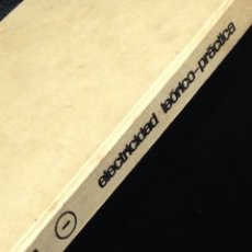 Libros de segunda mano: ELECTRICIDAD TEORICO-PRACTICA,EDICIONES AFHA,AGOSTO 1968-TOMO I.. Lote 148565260