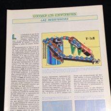 Libros de segunda mano: CONOZCA LOS COMPONENTES,LAS RESISTENCIAS.. Lote 148576209