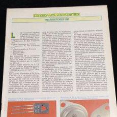 Libros de segunda mano: CONOZCA LOS COMPONENTES,TRANSISTORES (III).. Lote 148577961