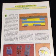 Libros de segunda mano: CONOZCA LOS COMPONENTES,EL TRIAC.. Lote 148583377