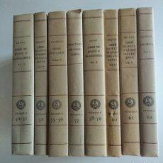 Libros de segunda mano: 8 LIBROS. ELS NOSTRES CLÀSSICS. EN CATALAN.. Lote 148650604