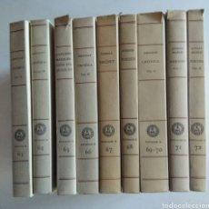 Libros de segunda mano: 9 LIBROS. ELS NOSTRES CLÀSSICS. EN CATALAN.. Lote 148652501