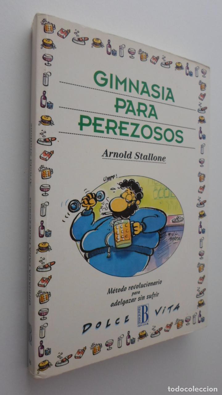 GIMNASIA PARA PEREZOSOS - STALLONE, ARNOLD (Libros de Segunda Mano (posteriores a 1936) - Literatura - Otros)