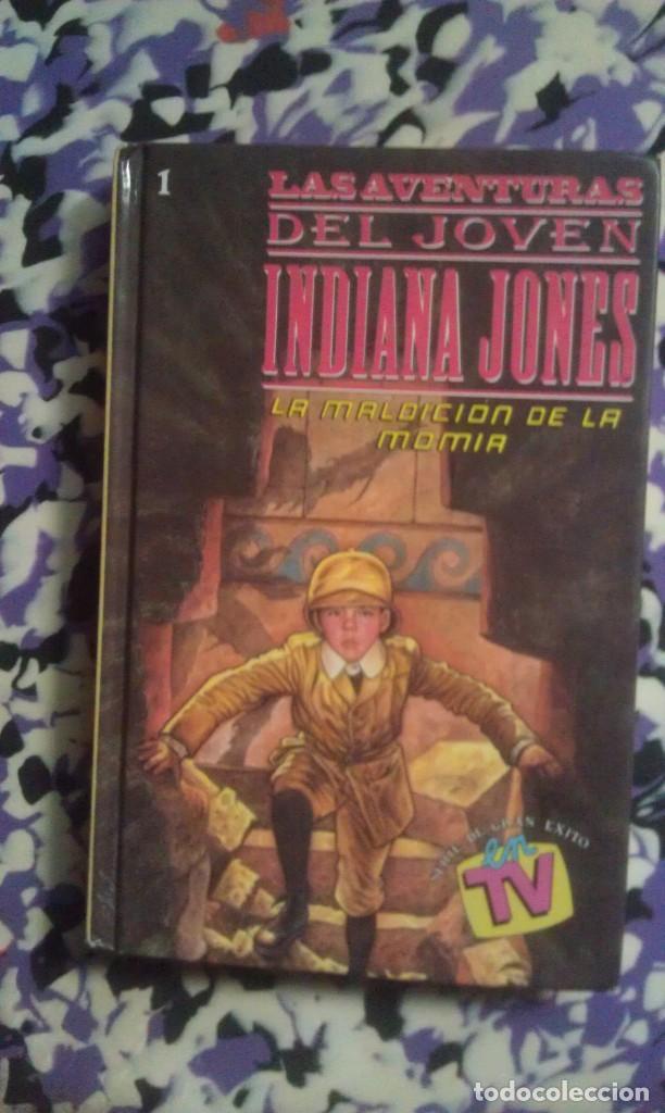 LA MALDICION DE LA MOMIA - LAS AVENTURAS DEL JOVEN INDIANA JONES (Libros de Segunda Mano - Literatura Infantil y Juvenil - Otros)