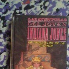Libros de segunda mano: LA MALDICION DE LA MOMIA - LAS AVENTURAS DEL JOVEN INDIANA JONES. Lote 148765210