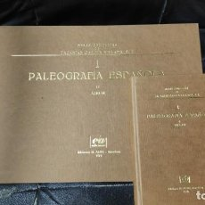 Second hand books - 1 LA PALEOGRAFIA ESPAÑOLA 2 TOMOS 1 TEXTO 2 ALBUM OBRAS COMPLETAS ZACARIA GARCIA VILLADA - 148777366