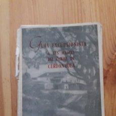 Libros de segunda mano: GUIA EXCURSIONISTA A LES MASIES DEL TERME DE CERDANYOLA MIMÓ I LLOBET - OCTAVI CARDONA VALLÈS. Lote 148781590