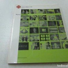 Libros de segunda mano: NOVOS CAMIÑOS-AMEAZAS E PROMESAS DA ARTYE ELECTRONICA -XACOBEO 99 -N 1. Lote 148800538