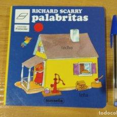Libros de segunda mano: PALABRITAS, RICHARD SCARRY, 1985, SUSAETA. Lote 148852550