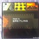 Libros de segunda mano: CATALOGO DE RELOJ, RELOJES MADE BY BREITLING / EN CASTELLANO Y EN INGLES / BREITLING S.A. SWITZERLAN. Lote 148901286